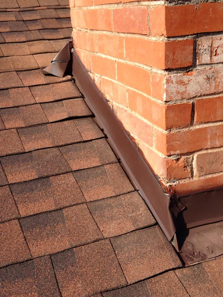 Chimney Roof Repair In Mckinney Waterview Construction