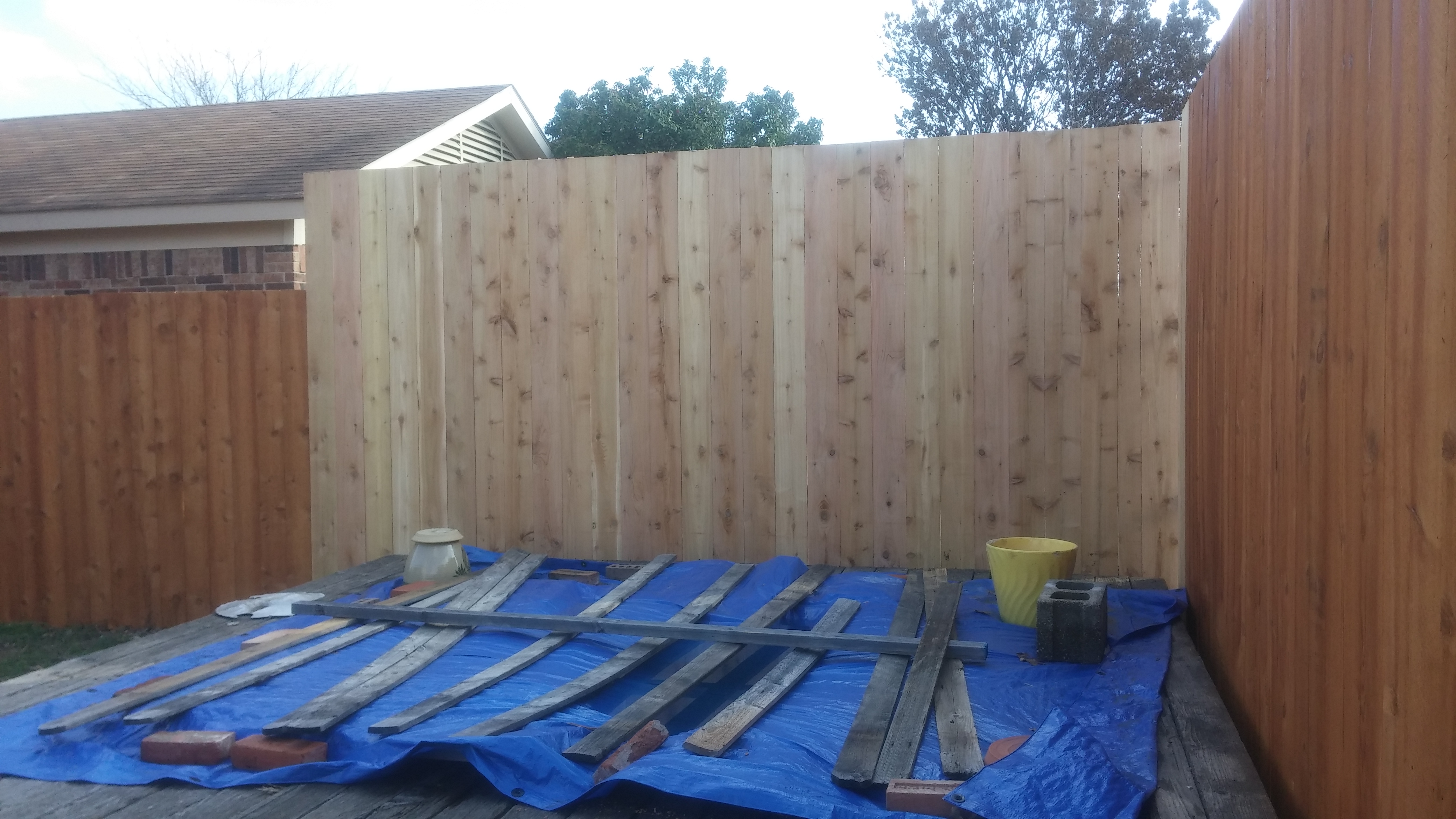 Garland Fence Repair Project